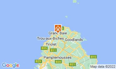 Map Grand Baie Villa 76883