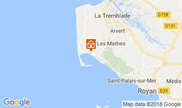 Map La Palmyre Mobile home 116002