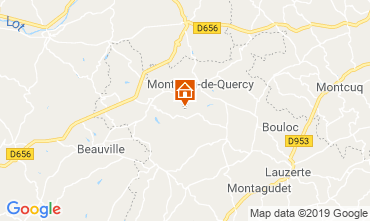 Map Lauzerte House 119124