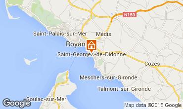 Map Royan Apartment 71486