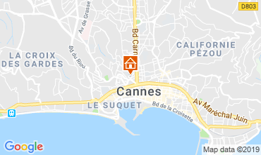 Map Cannes Apartment 40957