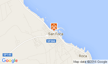 Map Torre dell'Orso Apartment 96353