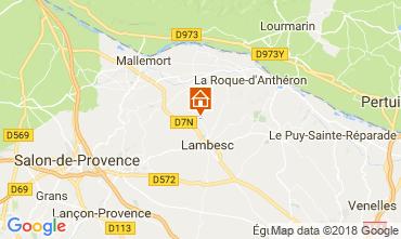 Map Mallemort Apartment 114482