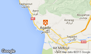 Map Agadir Villa 76643