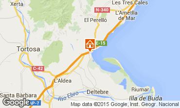 Map L'ampolla Villa 63018