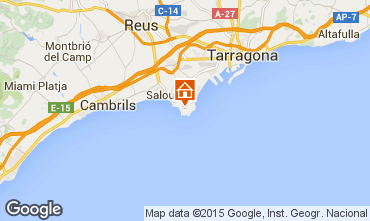 Map Salou Apartment 9654