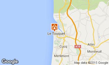Map Le Touquet Studio apartment 38630