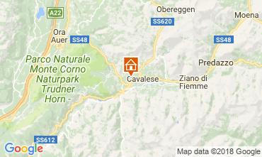 Map Val di Fiemme Apartment 25965