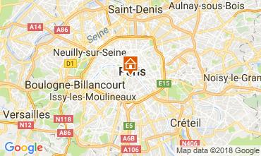 Map PARIS Studio apartment 113449