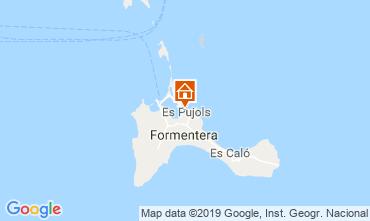 Map Es Pujols Apartment 75247