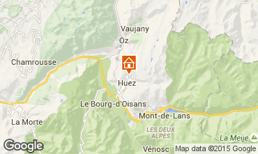Map Alpe d'Huez Apartment 65879