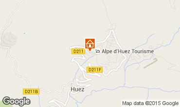 Map Alpe d'Huez Apartment 65879