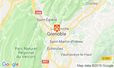 Map Grenoble Apartment 120029