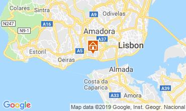 Map Lisbon Apartment 86633