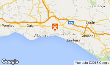 Map Albufeira Apartment 75941