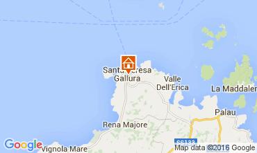Map Santa Teresa di Gallura Apartment 99070