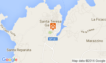 Map Santa Teresa di Gallura Apartment 99070