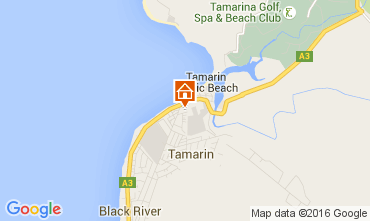 Map Tamarin Villa 105203