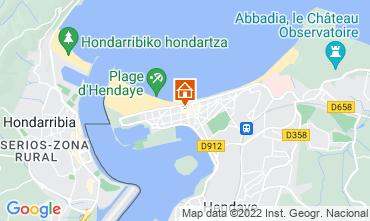 Map Hendaye Apartment 9350