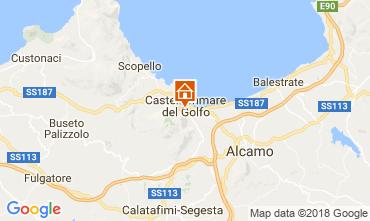 Map Castellammare del Golfo Apartment 109611