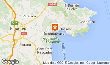 Map Empuriabrava Villa 53410