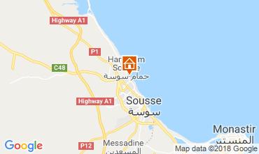 Map Sousse Apartment 117128