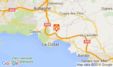 Map La Ciotat Villa 85839
