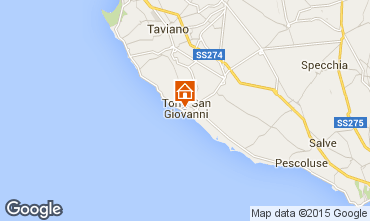 Map Ugento - Torre San Giovanni Apartment 93760