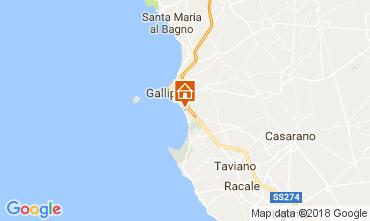 Map Gallipoli Apartment 112541