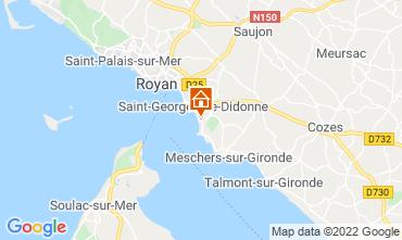 Map Royan Apartment 75392