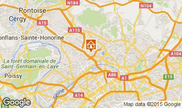 Map PARIS Self-catering property 91477