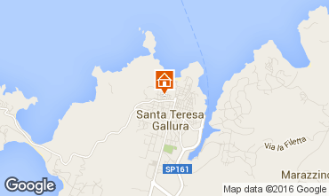 Map Santa Teresa di Gallura Apartment 74770