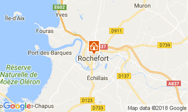 Map Rochefort sur Mer Studio apartment 113406