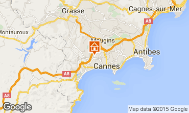 Map Le Cannet Apartment 60833