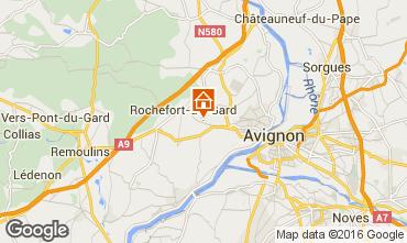 Map Villeneuve lez Avignon Villa 103227