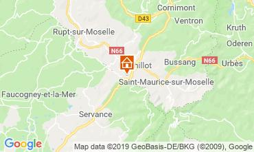Map La Bresse Hohneck Chalet 4531