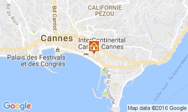Map Cannes Studio apartment 87686