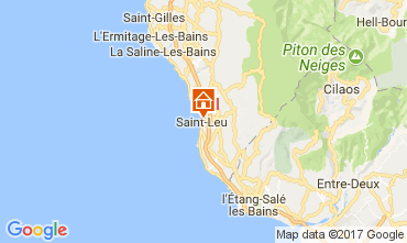 Map Saint Leu Self-catering property 112251
