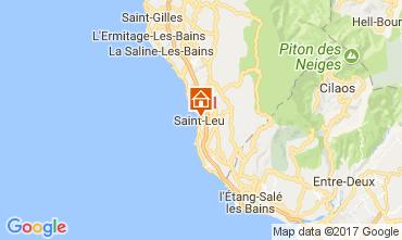 Map Saint Leu Self-catering property 112251