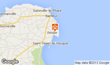 Map Saint Vaast la Hougue Self-catering property 70956