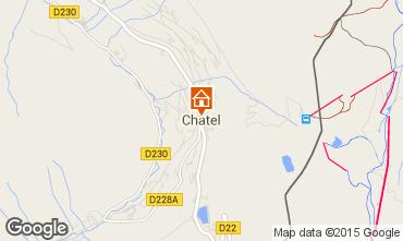 Map Châtel Apartment 82338