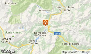 Map Auronzo di Cadore Apartment 85967