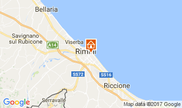 Map Rimini Apartment 110824