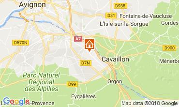 Map Saint Rémy de Provence Apartment 112960