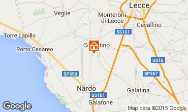 Map Porto Cesareo Apartment 62353