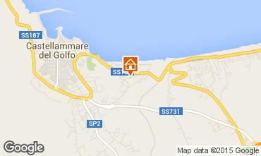 Map Castellammare del Golfo Apartment 33477