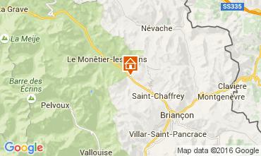 Map Serre Chevalier Apartment 103769