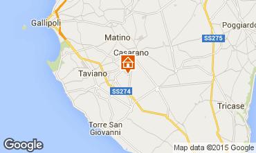 Map Ugento - Torre San Giovanni Villa 85621