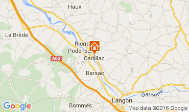 Map Bordeaux House 43881