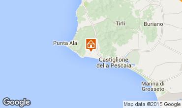 Map Castiglione della Pescaia House 52660
